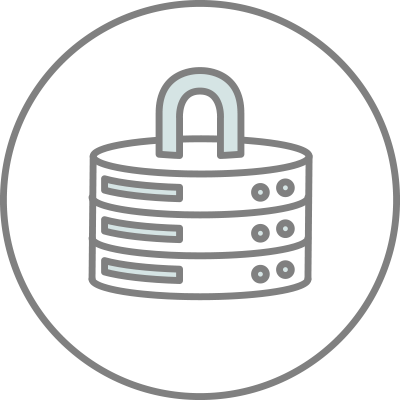 hosting and security icon
